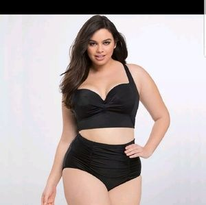 Other - High waist lined 2 pieces swimsuit